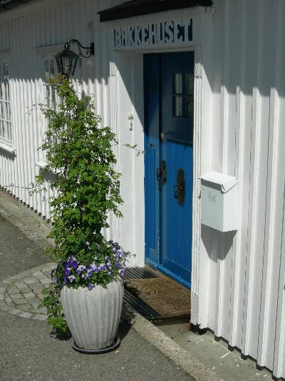 Vakker velkomst i Åsgårdstrand
