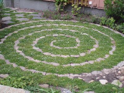 Spiral i hagen