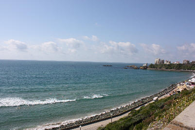 Biarritz byr på nydelige bade- og surfemuligheter