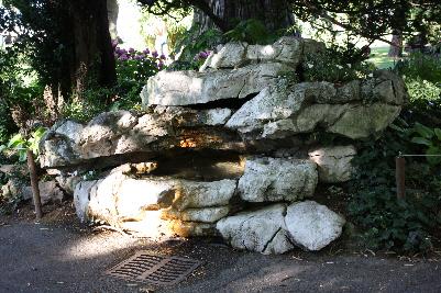 Naturlig fontene i Geneve
