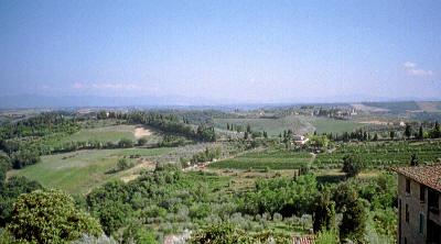 Miljøbilde fra Toscana