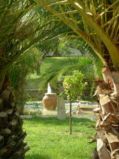 En vakker hage