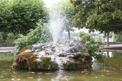 Naturlig fontene