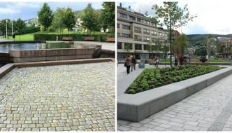 Permeable dekker i Drammen