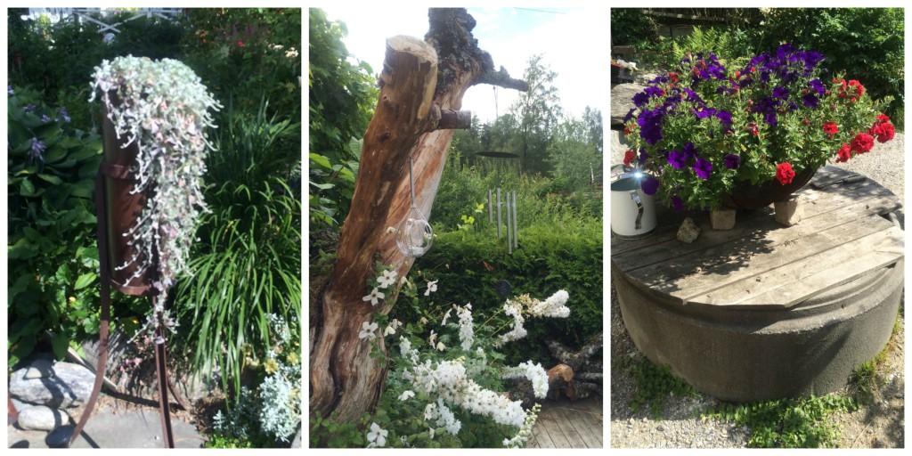 Arrangementer i hagen